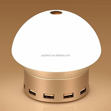 Smart LED Desk Lamp with 6 port USB Charging HUB