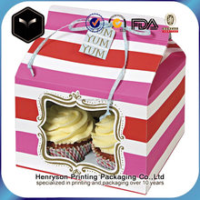 Direct Supplier Custom Fancy Cake/Chocolate Paper Gift Box for Sale with Ribbon
