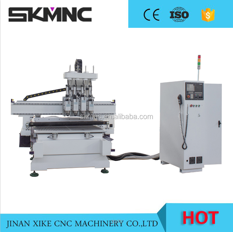 High Speed Auto Tool Changer Cnc Multi-process Woodworking Machinery For Panel Furniture and Door For Sale
