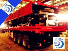 Directy factory 3axles wind blade semi trailer/flatbed extendable semitrailer for sale