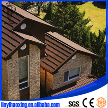 Stone coated shingle metal roofing sheet