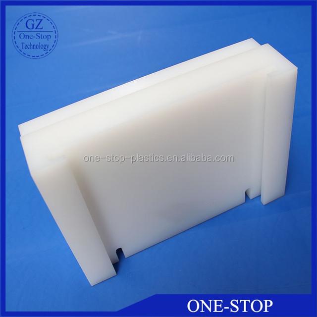 Custom HDPE slide block plastic Parts PE slide block