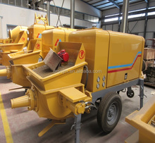 good quality trade assurance used concrete trailer pump price for sale factory price