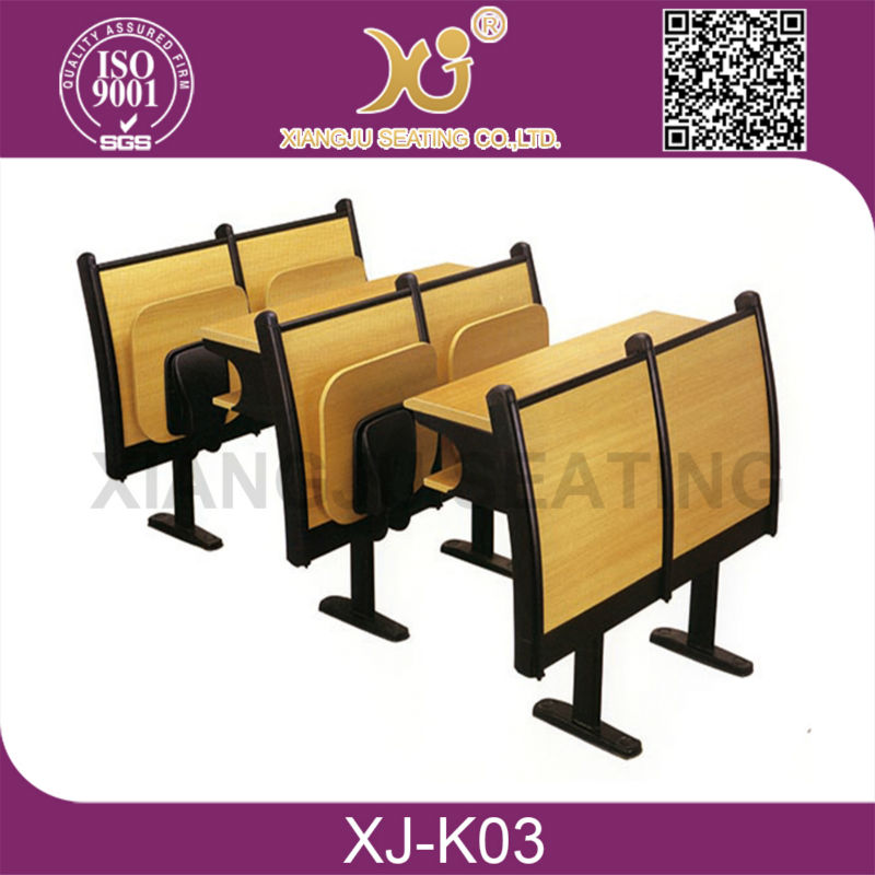 University desk chair, folding school chair desk, chairs for college students
