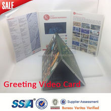Promotional mp4 player video mailer flyer