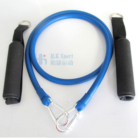 Smart Workout Fitness Custom Yoga Trainer Latex Resistance Tube