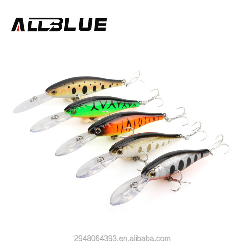 ALLBLUE Fishing Lure Wobbler Bass Lure Hard lure