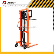 CE TUV ISO Ningbo JEBOTLIFT CTYD1030 1T 3M manual stacker
