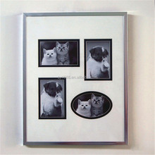 four windows animal family collage mdf photo frame