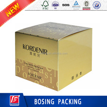 High Quality cosmetic paper box packaging