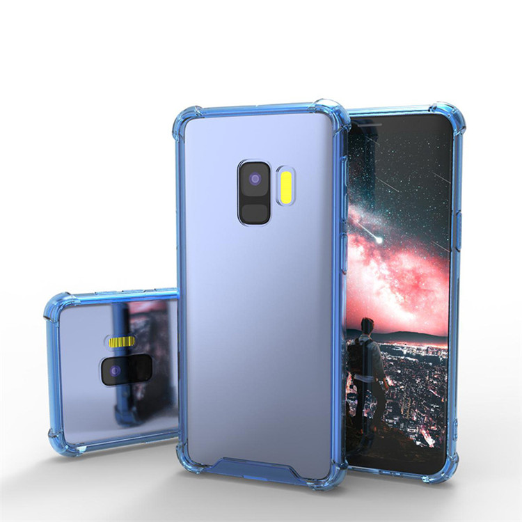 Slim Clear Soft TPU Case for Galaxy S9 Acrylic Anti-drop Transparent Phone Case for Samsung Galaxy S9
