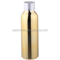 150ml Gradient color Shampoo bottle packing with plastic cap