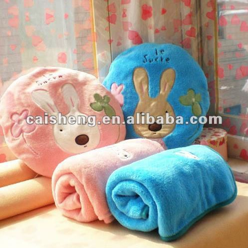 Rabbit folding air conditioner/blanket