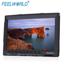 FEELWORLD professional dslr movie making monitor IPS Peaking Focus Assist screen 7 inch for handheld stabilizer