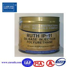 Low Viscosity Polyurethane Injection Resin for PU injection