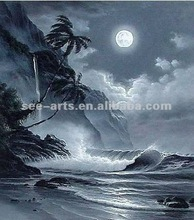 commercial painting handmade ocean waves oil painting