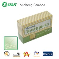bamboo personalized reusable toothpicks in low price