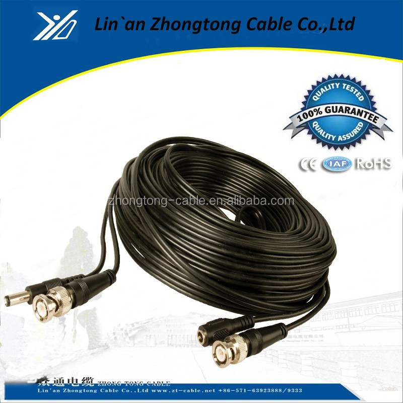 BNC+DC RG59 Video Cable with Power for CCTV Security Camera