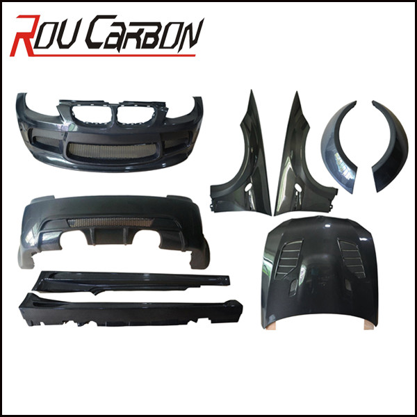 M3 Style carbon fiber Aftermarket Parts Car E92 Body Kit for E92