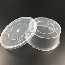 disposable plastic polypropylene heat resistant food container