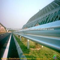 Galvanized highway W-Beam crash barrier(Manufacture)