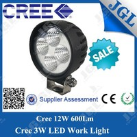 NEW factory price 12w led headlight led truck work light auto led work light
