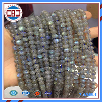 Natural spectrolite gemstone loose beads for fashion jewelry making