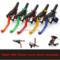 PRO CAKEN Flight CNC Adjustable Folding Aluminum Clutch Lever and Perch Assembly With Hot Starter