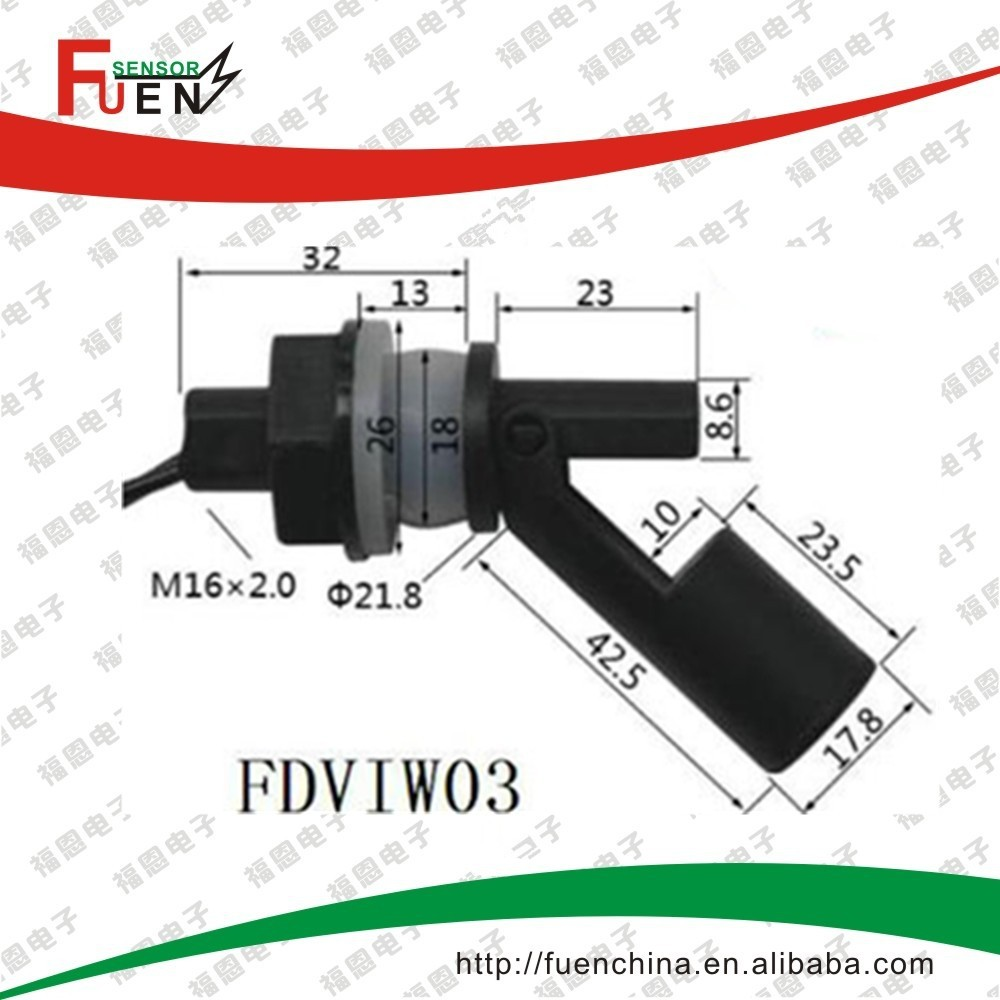 Side Mounted Magnetic Flow Switch Flow Sensor