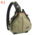 K1 Professional Waterproof Shoulder Camera Case Triangle Outdoor Travel Photographic Carry Bags Army Green