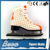 Wholesale latest stainless steel fashion ice hockey skate foreign shoes