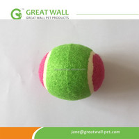 Best quality 70mm diameter tennis ball for beach