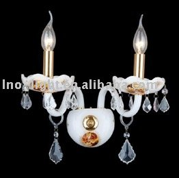 New white home decoration wrought iron candle wall sconces