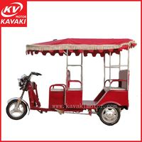 High Classic Cheap Price 3 Wheel Motor India Style Tricycle