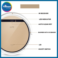 China ILife V5S Pro CHUWI Intelligent Mop Robot Maid Vacuum Cleaner