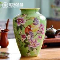 Antique Chinese Hand painted large Porcelain vase