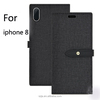 Cheap Flip Pu Stand Leather Wallet Case Cover For iphone 8 Case