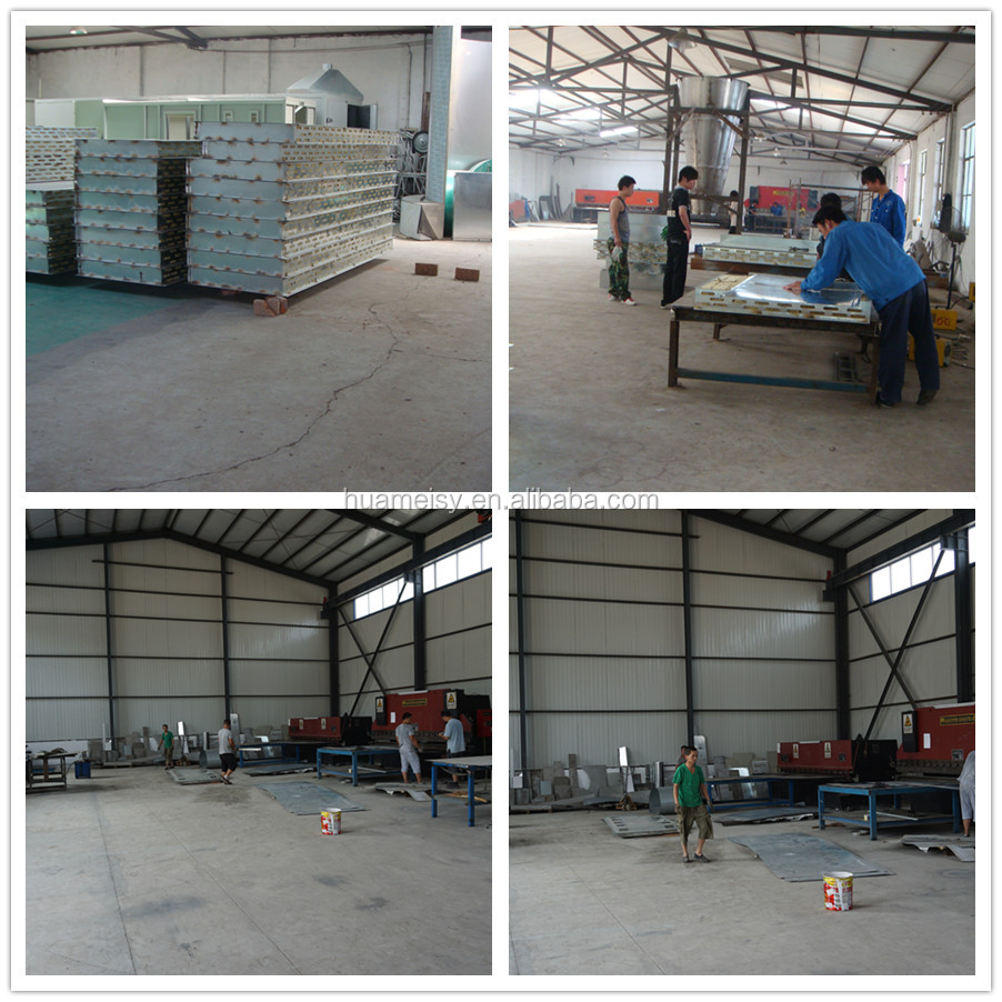 Fast Color Change Plastic Powder Coating Booth