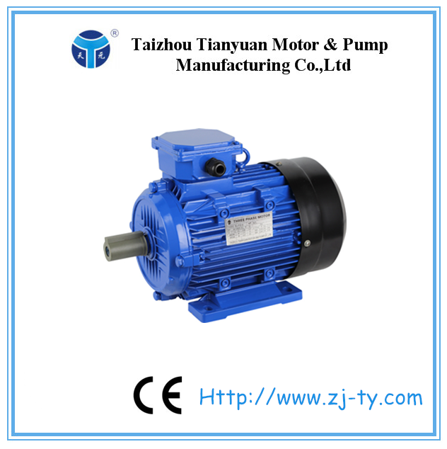Y2 series three phase motor induction 1.5 kw 2 hp electric motor