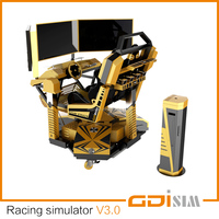 racing motion simulator CE certificate for sale