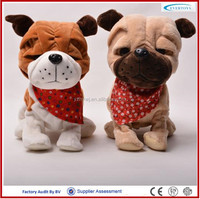2016 hot new cute battery operated walking dog toy