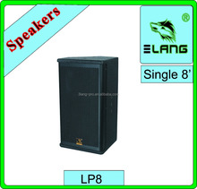 chinese cheapest ukuran box speaker 8 inch full range 3 ways