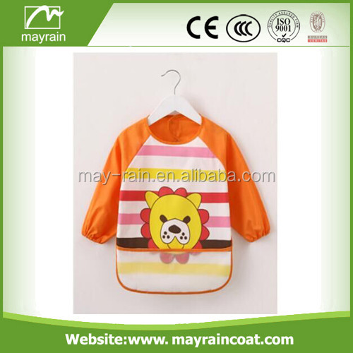 mayrain kids rainwear children apron with logo