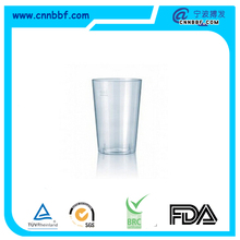 Hard plastic PP cup short wine cup air cup