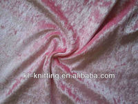 velvet crushed fabric