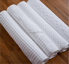2015 new products cotton jacquard absorbent bath mat for home and hotel
