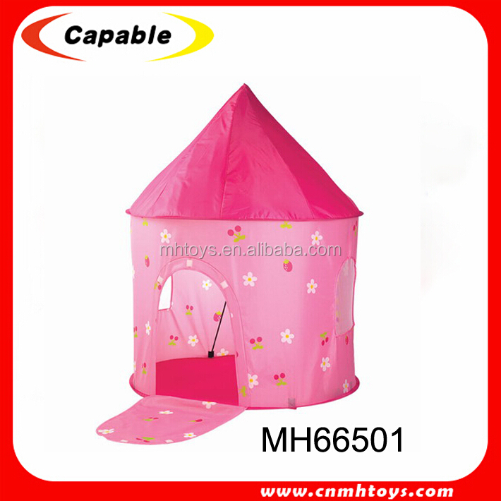 Funny pink tent house cheap kids beach play toy tent