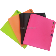 YUGUI eco-material plastic school and office stationery A3 A4 clear file folder document holder