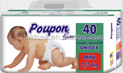 China oem pampering disposable baby diapers happy baby