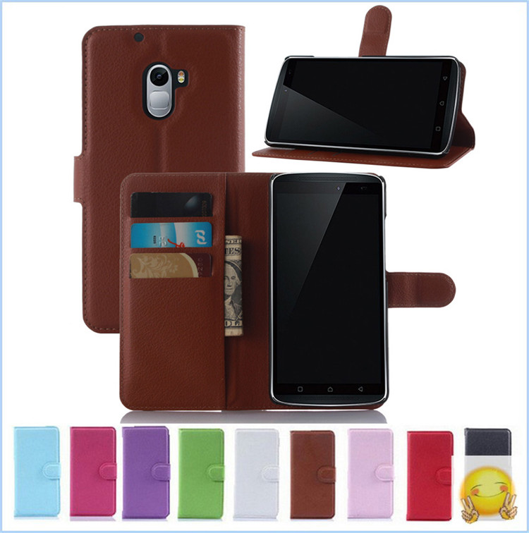 9 Colors Luxury Wallet Credit Card Book Flip Stand Leather Cover For Lenovo X3 Lite / K4 Note A7010 Case